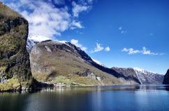 Naerofjord Fotos de archivo