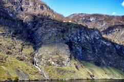 Naerofjord Imagen de archivo libre de regalías