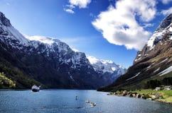 Naerofjord Fotografía de archivo
