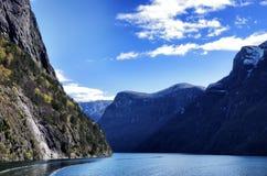 Naerofjord Fotos de archivo libres de regalías