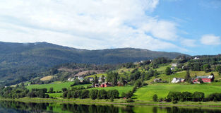 Naerofyord - Bergen Norway Stock Photos