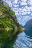 Naeroyfjord view Stock Photography