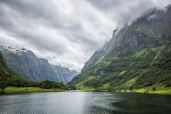 Naery Fjord Fotografering för Bildbyråer