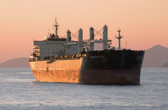NAESS RESOLUTE bulker Stock Photo