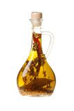 nafciana butelki oliwka Zdjęcie Stock