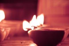 Nafciana lampa zaświecająca jaśnieje, retro spojrzenie Obraz Stock