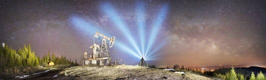 Nafciana pompa i gwiazdy zdjęcie stock