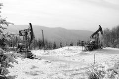 nafciana przemysł pompa Russia Przemysł paliwowy equipment Takielunek dla ekstrakcja oleju Obraz Royalty Free