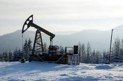 nafciana przemysł pompa Russia Przemysł paliwowy equipment Takielunek dla ekstrakcja oleju Obrazy Royalty Free