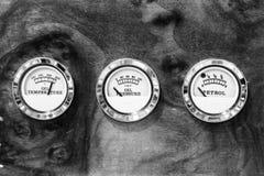 Nafciana temperatura, nafciany nacisk i nafciani równi wskaźniki na br, Obrazy Royalty Free