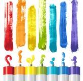 nafciane farby ilustracji