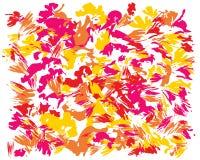 Nafciany abstrakta muśnięcia obraz ilustracja wektor
