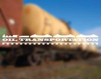 Nafciany transport Obrazy Stock