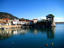 nafpakto гавани Греции Стоковое фото RF