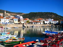 nafpakto de port de la Grèce Images stock