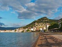 Nafpaktos, Греция стоковая фотография rf