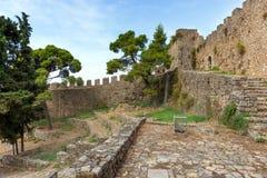 Nafpaktos Castle, Ελλάδα Στοκ Φωτογραφία
