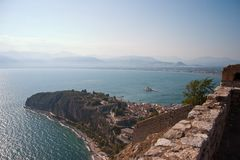 Nafplio bay Royalty Free Stock Image
