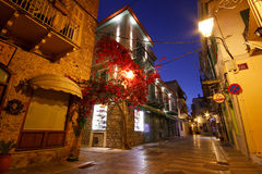 Nafplio city center, Greece. Royalty Free Stock Photos