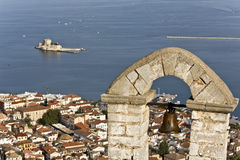 Nafplio city at Peloponesse, south Gre Stock Photos