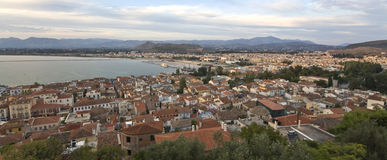 Nafplio city at Peloponnese, Greece Royalty Free Stock Photos