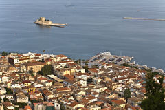Nafplio city at Peloponnese, Greece Stock Photos