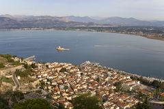 Nafplio city at Peloponnese, Greece Stock Image