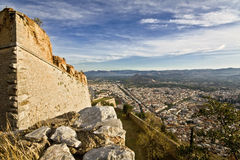 Nafplio city at peloponnese pe Royalty Free Stock Photos
