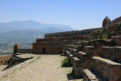 Nafplio, Greece, Palamidi Castle Royalty Free Stock Photography