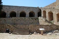 Nafplio, Greece, Palamidi Castle Stock Image