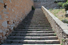 Nafplio, Greece, Palamidi Castle Stock Photos