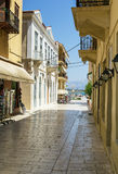 Nafplio, Greece. Streets in old part of the city of Nafplio royalty free stock photography