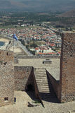 Nafplio, Greece, view from Palamidi Royalty Free Stock Photos