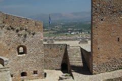 Nafplio, Greece, view from Palamidi Stock Photos