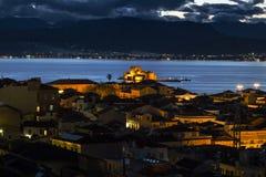Nafplio, Griechenland stockfotografie