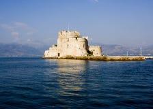 Nafplio Griekenland van Bourtzi royalty-vrije stock afbeelding