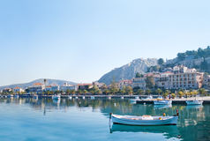 Nafplio harbour Stock Image