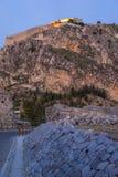 Nafplio Palamidi Fortress Royalty Free Stock Photo