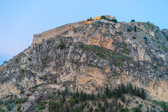 Nafplio Palamidi Fortress Stock Photo