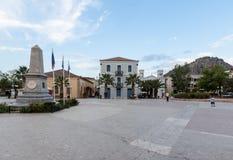 Nafplio Syntagma Square Greece Royalty Free Stock Photo