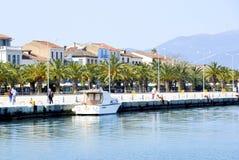 Nafplion,希腊的第1个首都 图库摄影