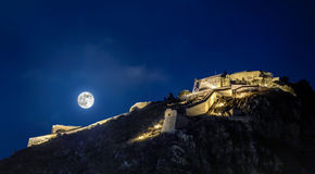 Nafplion fortress Royalty Free Stock Image