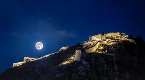 Nafplion fortress royalty free stock image