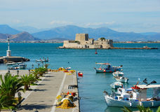 Nafplion, greece stock photography