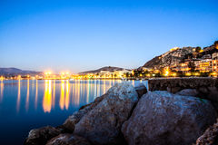 Nafplion riverside Stock Images