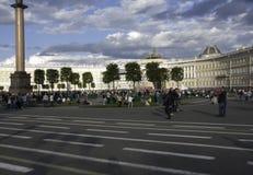 Nagły pojawienie środkowy teren Petersburg Obrazy Stock