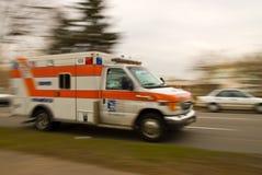 Nagły wypadek: Pacjent opuszcza daleko obraz stock