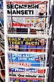 nagłówki Fotografia Stock