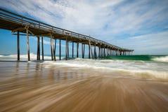 NAG Северной Каролины банков Seascape пляжа Атлантического океана наружные Стоковые Фотографии RF