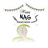 Nag Panchami Στοκ φωτογραφία με δικαίωμα ελεύθερης χρήσης